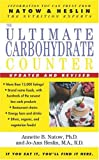 The Ultimate Carbohydrate Counter, Annette B. Natow and Jo-Ann Heslin, 0743464397