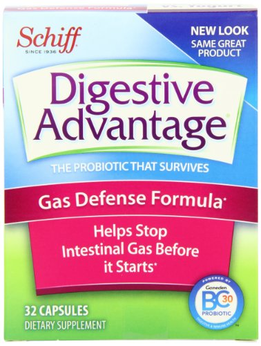 Digestive Advantage Once Daily Gas Defense Formula, 32 - Capsules (Pack of 3)