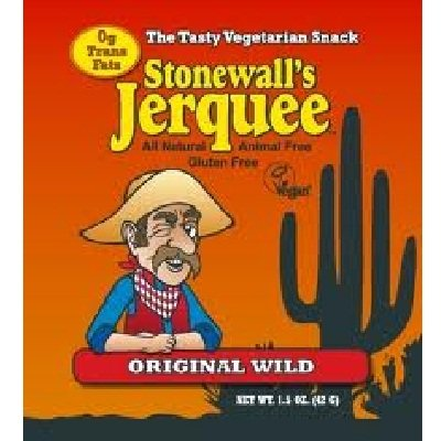 Stonewall's Jerquee, Original Wild, 1.5-Ounce Packets (Pack of 8)