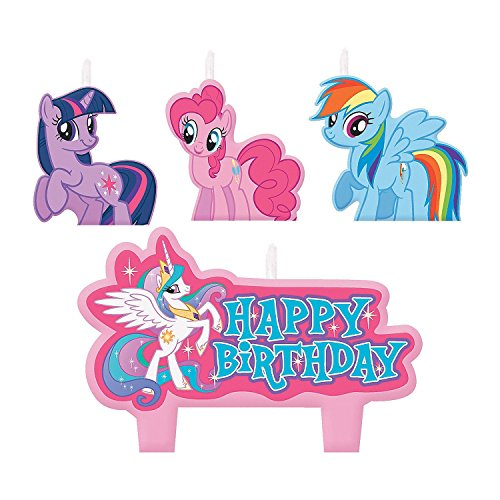 My Little Pony Friendship Is Magic Birthday Candles (Pony Candles)