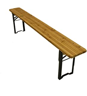 2 Meter Long Wooden Folding Benches, Scout Benches, Beer Benches