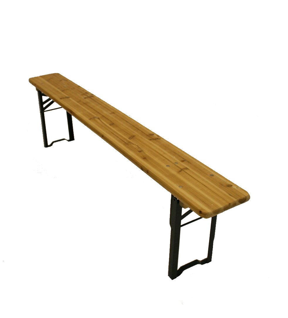 2 Meter Long Wooden Folding Benches, Scout Benches, Beer Benches:  Amazon.co.uk: Garden U0026 Outdoors