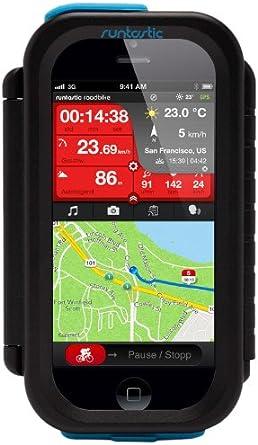 Runtastic RUNCAI1B Carcasa de Smartphone para Bicicleta, Color ...