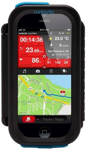 33 opinioni per Runtastic Custodia Protettiva per Bicicletta per Iphone 4/4S/5 Nera