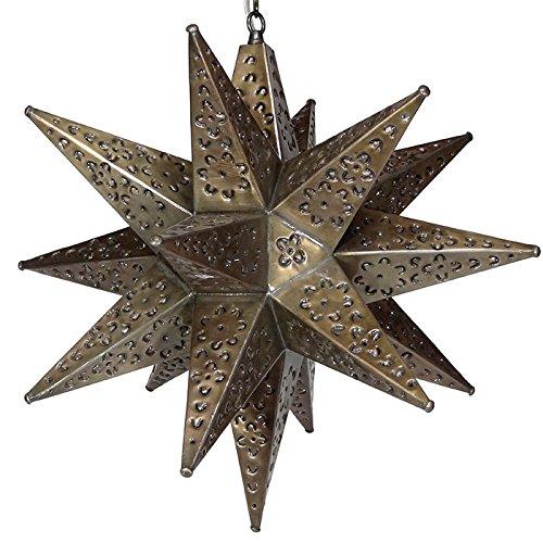 Tin Star Pendant Light in Florida - 9