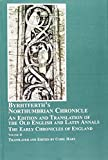 Byrhtferth's Northumbrian Chronicle 9780773457515