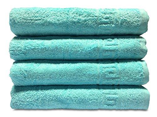 Goza Towels Greek Key Design Cotton Towels