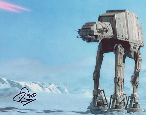 PAUL JERRICHO as an AT-AT Driver - Star Wars: The Empire Strikes Back GENUINE AUTOGRAPH