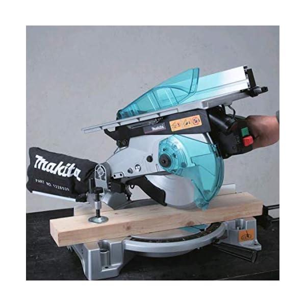 Makita LH1040F Ingletadora Con Mesa Y Luz 1650W 4800 Rpm Disco 260 Mm 14 Kg, 1.6 W, 240 V, Azul, 0