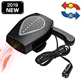 12V Portable Car Heater or Fan - Cooling Car Space & Fast Heating Defrost Defogger Space Automobile...
