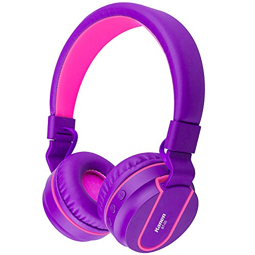 Wireless Bluetooth Headset For Cell Phones (Purple) - 8