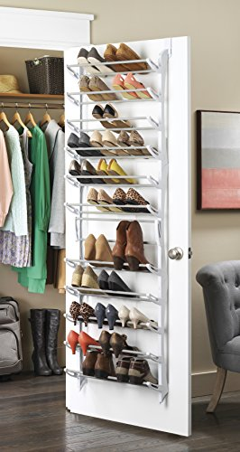 36-Pair Over-the-Door Shoe Rack