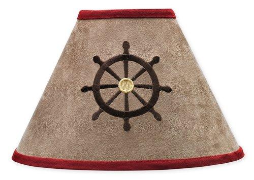 Treasure Cove Pirate Lamp Shade by Sweet Jojo Designs