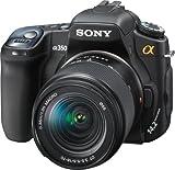 Sony Alpha DSLRA350K 14.2MP Digital SLR Camera with Super SteadyShot Image Stabilization DT 18-70mm f/3.5-5.6 Zoom Lens