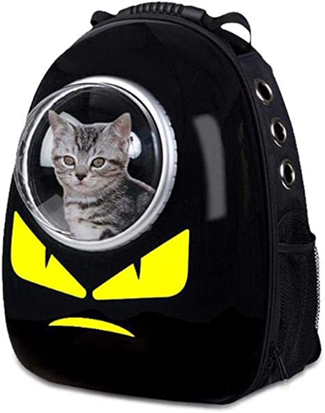 CS-LJ Bolsa para Mascotas Bolsa para Gatos Space Capsule Mascota ...
