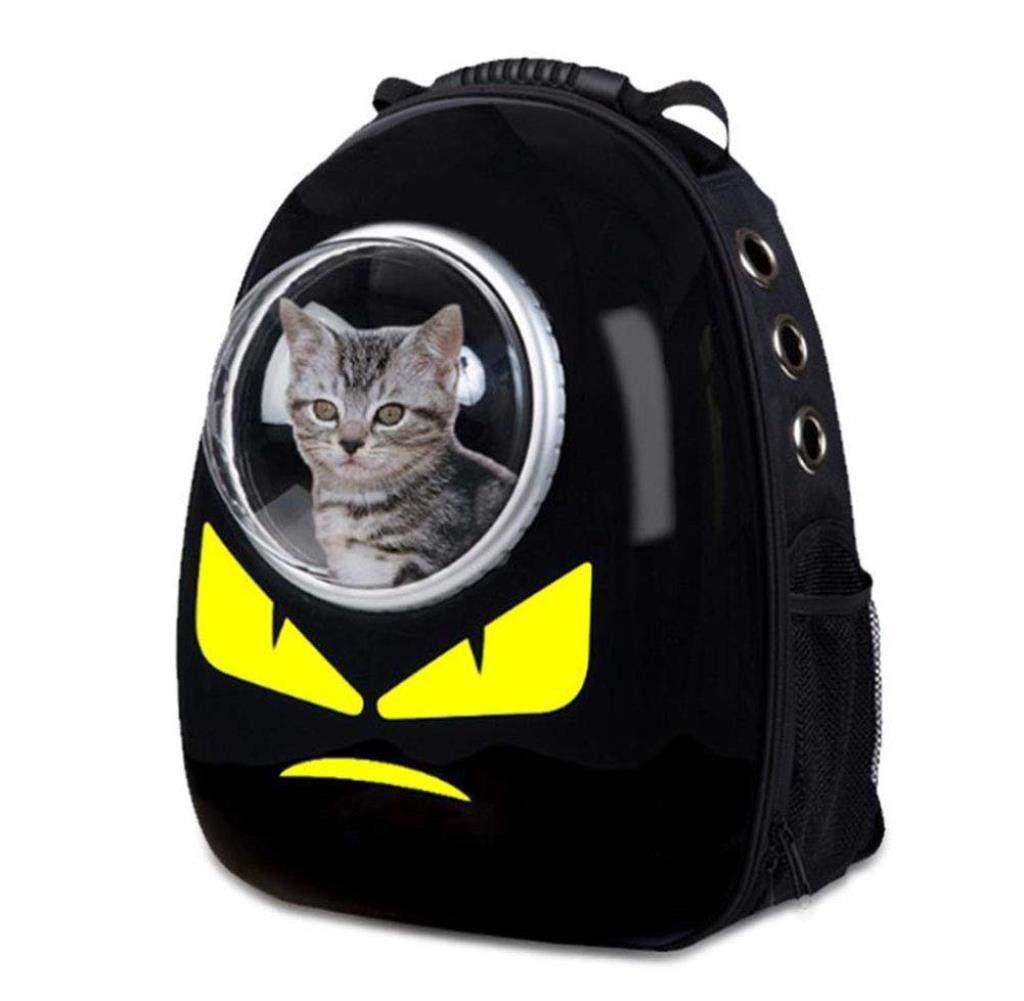Pet bag Large-capacity Space Capsule Out Portable Backpack Cat Rabbit Travel Bag Pet Backpack 32 x 29 x 42CM XMUEI