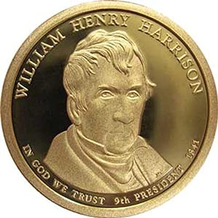 2009 William Henry Harrison S Dollar Roll From Proof Sets