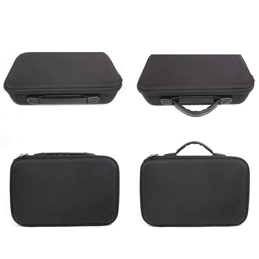 Bolsa de Almacenamiento Negra Impermeable para Accesorios de dron dji Tello Color Negro Bolsa de Transporte r/ígida para dji Tello//Tello EDU RC Minidrone Maleta de Transporte
