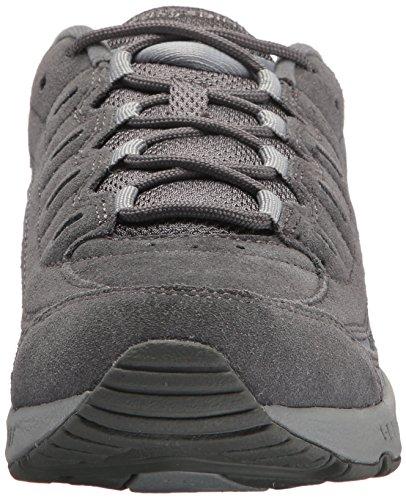 Easy Spirit Women's Romy Sneaker, Grey Suede 060, 8.5