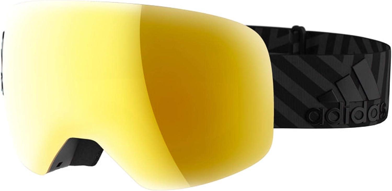 primer ministro Suavemente impaciente  adidas BACKLAND SPHERICAL AD86 Black Matt/Gold Mirror Cat. unisex Ski  Goggles: Amazon.co.uk: Sports & Outdoors