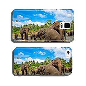 Elephants in the river cell phone cover case iPhone6 Plus