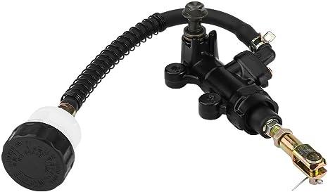 Pompa Freno a Pedale Posteriore Pompa Freno Idraulico Pompa Freno Posteriore per GSXR 600 750 1000 1300