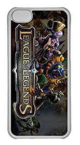 iPhone 5C Case, iPhone 5C Cases - Anti-Scratch Crystal Clear Hard Back Case for iPhone 5C League Of Legends 20 Shock-Absorption Hard Back Bumper Case for iPhone 5C hjbrhga1544