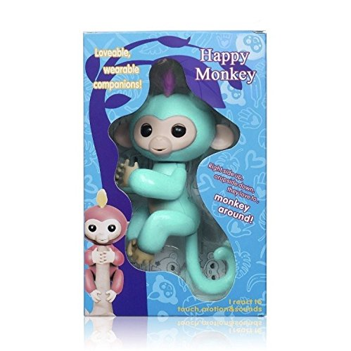 Finger Monkey Friend- Interactive Learning Toy- Smart Touch Motion Pet- FAST SHIPPING!