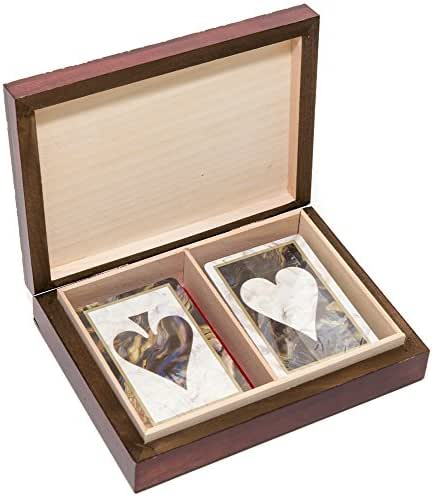 The Knight Card Case & Bello Games Designer Series The Ace of Hearts Congress Playing Cards from Spain.