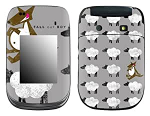 MusicSkins, MS-FOB30246, Fall Out Boy - Sheep, BlackBerry Style (9670), Skin