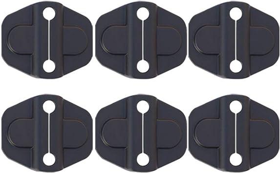 Door Lock Cover for 2018 2019 Jeep Wrangler JL//JLU 2020 Gladiator JT Door Latch Protection Trim Accessories