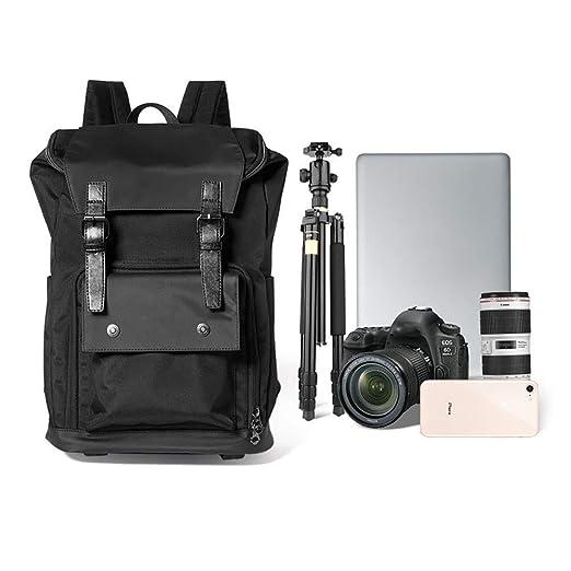 PAPI Mochila para cámara réflex Digital, Impermeable, Transpirable ...