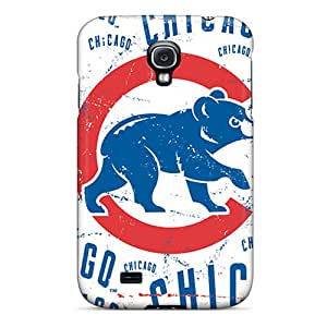 New Design Shatterproof YVfFV12505Csqwi Case For Galaxy S4 (chicago Cubs)