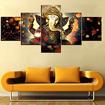 Amazon.com: Sunrise Art Canvas Prints Framed Hindu Fairy Wall Art ...