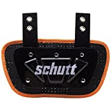 Schutt Sports Neon Football Back Plate, Neon Orange, Youth