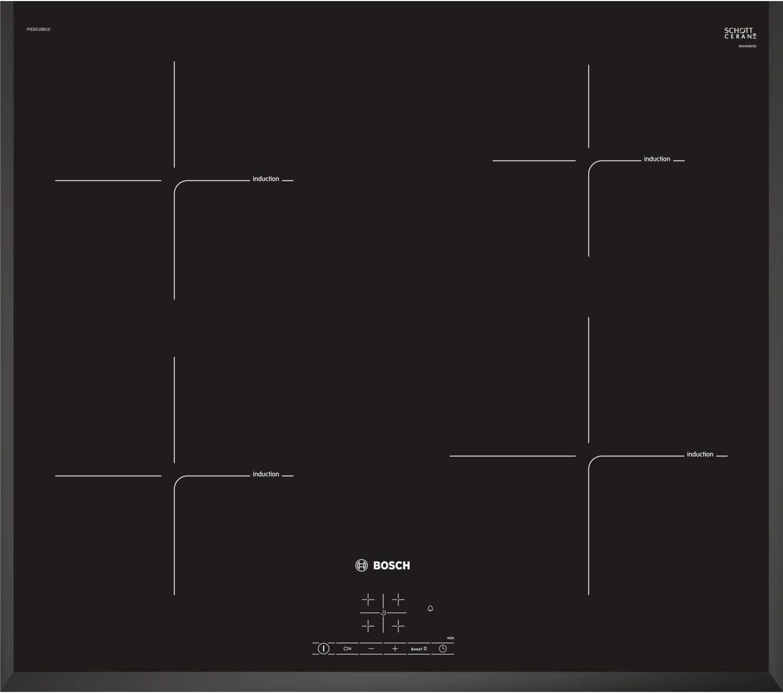 Bosch PIE651BB1E Serie 4 Bulit-in Induction Kitchen Hob Black Ceramic Glass