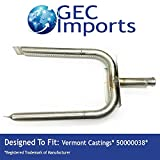 Vermont Casting 100 200 400 U-Shaped Replacement Burner 50000038