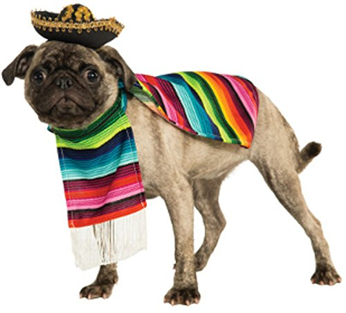 Rubie's Pet Costume, Medium, Mexican Serape -