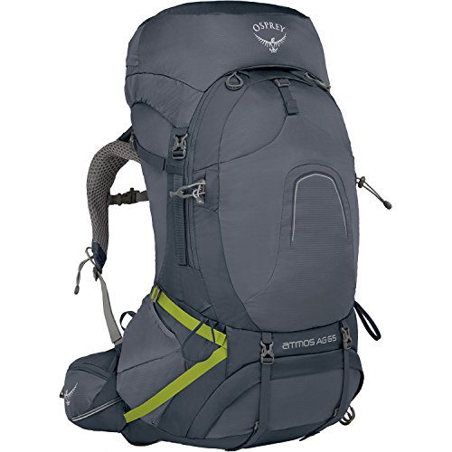 Osprey Packs Pack Atmos Ag 65 Backpack, Abyss Grey, Large