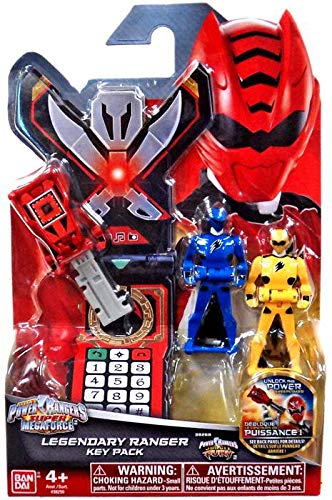 Power Rangers Super Megaforce - Jungle Fury Legendary Ranger Key Pack, -