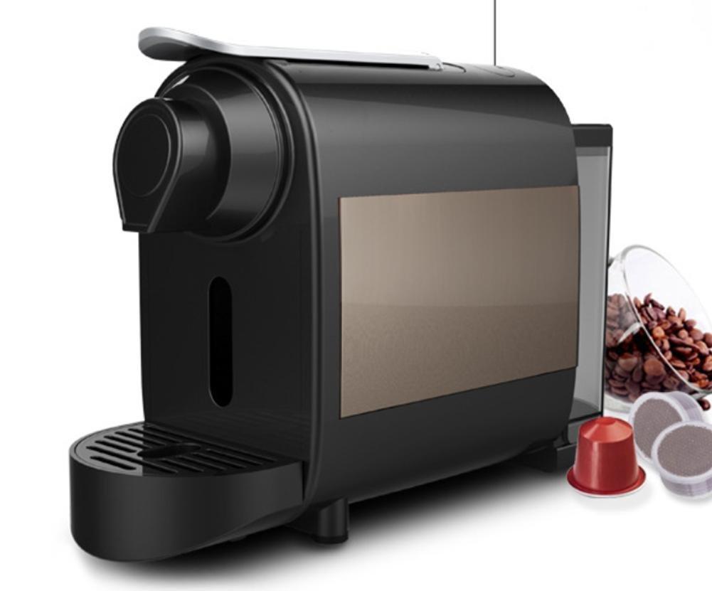 ZWZT Ligero portátil automática de la cápsula negocio de máquinas de café, cafetería oficina en casa: Amazon.es: Hogar