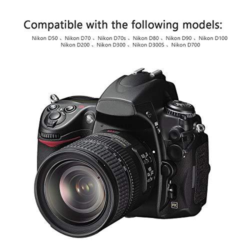 Bonacell EN-EL3E 2000mAh Replacement Battery and Charger Kit Comaptible with Nikon D700, D300, D300S, D200, D100, D90, D80, D70, D70s, D50 Digital SLR Camera 2 Pack