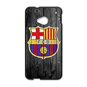 HTC One M7 Cell Phone Case Black Barcelona HG7648513