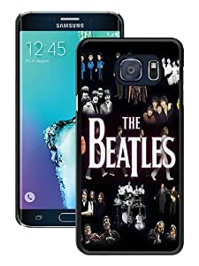 Hot Sale Samsung Galaxy S6 Edge Plus Case ,Beatles Rock Band Black Samsung Galaxy S6 Edge+ Cover Unique And Beautiful Designed Phone Case