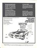 1970 Oldsmobile 442 W31 Dealer Showroom Display Ad