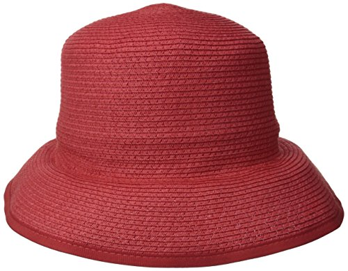 physician-endorsed-womens-alegra-soft-cloche-with-ribbon-binding-rated-upf-50-geranium-one-size