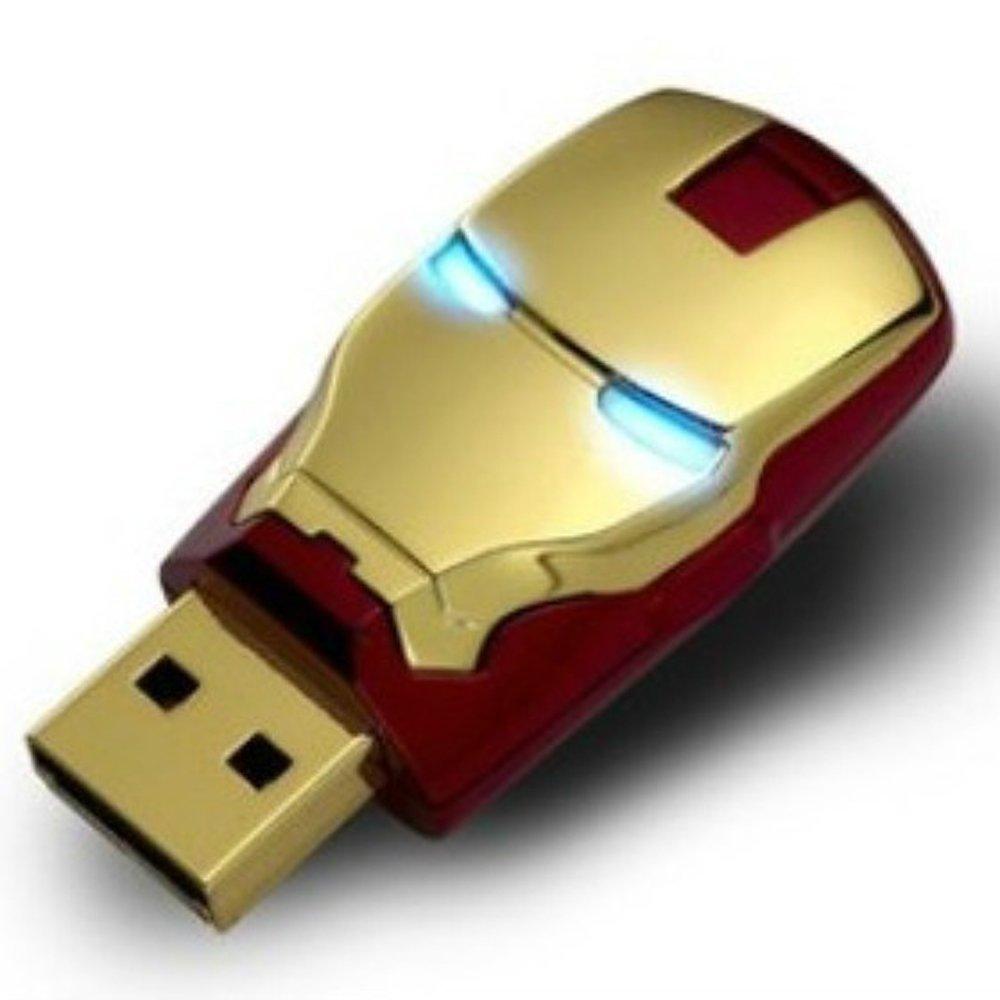 Amazon.com: 64 Gb USB 2.0 Memory Stick Flash Pen Drive Unique Iron ...