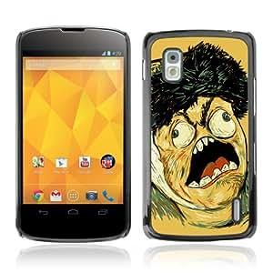 YOYOSHOP [LOL WTF MEME TROLL FACE] LG Google Nexus 4 Case