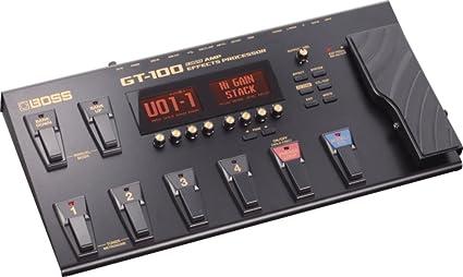 Amazon.com: Boss GT-100 Guitar Multi-Effects Pedal w/Headphones .
