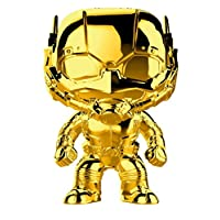 Funko Figure Pop Marvel Studio's 10th Anniversary Ant Man Chrome, Multicolor